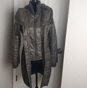 T Tahari puffy coat